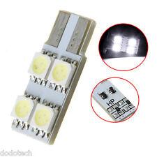 2* Veicoli T10 W5W 194 168 4 5050 SMD White LED Car Side Wedge Light Lamp Bulb