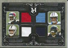 Winston Mariota Cooper White 2015 Topps Museum Collection quad jersey card /99