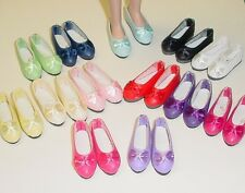 DOLL Shoes 44mm FUSCHIA Ellowyne, Patience & NuMood Flats