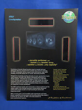 MCINTOSH XRT27 SPEAKER SALES BROCHURE ORIGINAL GOOD CONDITION