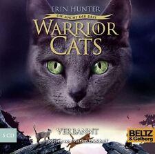 Warrior Cats - Die Macht der drei  Verbannt von Erin Hunter (2013) wie neu !!!