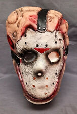FRIDAY THE 13TH JASON VORHEES CHEMICAL TOXIC WASTE FACE MASK TEEN / ADULT LATEX