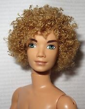 (C) NUDE KEN (~ MY SCENE LARGE HEAD BLONDE BRYANT MATTEL BOYFRIEND DOLL FOR OOAK