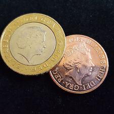 Magic Trick - Coin Unique £2 - 2p The Amazing Vanishing 2p