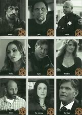 SONS of Anarchy Stagione 4 - 5: 9 Set di caratteri CARD c12-c20