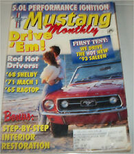 May 1993 Mustang Monthly Magazine