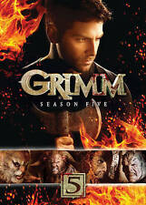 Grimm: Season Five (DVD, 2016, 5-Disc Set) BRAND NEW FACTORY SEALED
