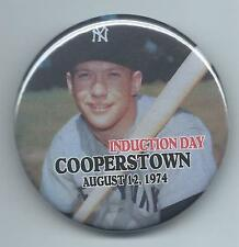 MICKEY MANTLE - 1974 BASEBALL HALL OF FAME INDUCTION- REFRIGERATOR MAGNET- PHOTO