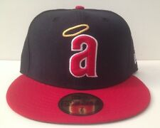 New Era 59/50 Fitted Hat - Anaheim Angels (Blue/Red)