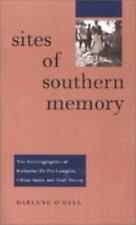 SITES OF SOUTHERN MEMORY NEW PAPERBACK BOOK