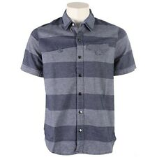 VOLCOM Men's CAMPBRO S/S Button-Up Shirt - MRB - Large - NWT - Reg $70