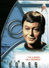 STAR TREK 35TH ANNIVERSARY BONES CARD BB4