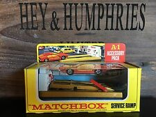 Matchbox accesorry Pack a-1b OVP mint/mint from 1970.