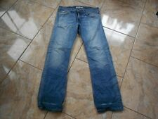 H9187 LEVIS 506 standard JEANS w34 l34 Medio Blu con difetti