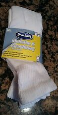 Dr. Scholl's Diabetes & Circulatory Socks 12 Pair Ankle White Large