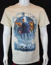 Dr Who Time Of The Doctor 11th Doctor T-Shirt Tardis Time Lord Premium Tee Med