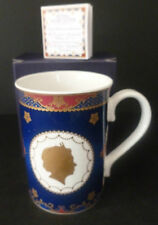 ROYAL WORCESTER QUEEN ELIZABETH II CORONATION 60th ANNIVERSARY MUG NEW BOXED