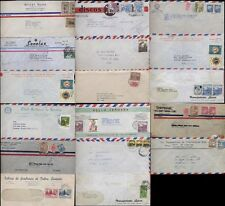 COLOMBIA AIRMAIL 1940s-80 Media Film 17 Covers + rates to USA