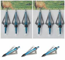 Broadheads Pack of 15 Crossbow Arrow and Archery Arrows Head Bolts 100grain