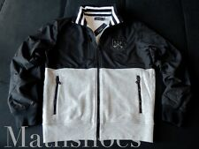 Polo Ralph Lauren Crest Track Jacket $225NWT varsity rugby fleece patch usa rl L