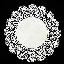 "100 - 8"" White CAMBRIDGE LACE PAPER DOILIES 