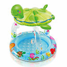 Sea Turtle Inflatable Childs Baby Toddlers Sun Shade Swimming Paddling Pool 6151