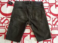 Guess Slim Tapered Denim Short Palm Desert Wash Green Size 30