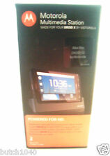 HD Multimedia Dock Charger for Motorola Droid X,Works On Droid X2 (New In Box)