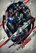 2015 MARVEL The Avengers : Age of Ultron 24x36 inches Silk Poster #new2
