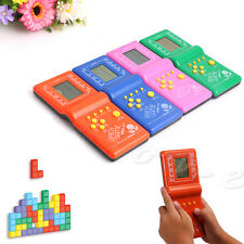Classic Tetris Hand Held LCD Electronic Game Toys Brick handheld Arcade Game mm