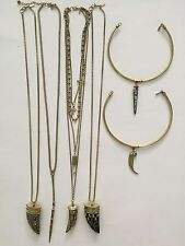 NEW Vanessa Mooney Necklace Lot Bulk 6 Chokers Long Necklaces