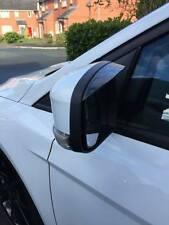 Ford Focus Mk2.5/Mk3 2008-2016 Mirror Rain Deflector Visor Smoked Rs,st Eyebrows