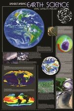 (LAMINATED) UNDERSTANDING EARTH SCIENCE POSTER (61x91cm) EDUCATIONAL CHART NEW