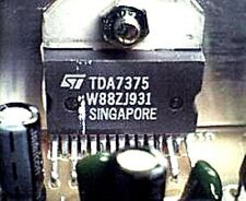 ST TDA7375 ZIP-15 2 x 35W DUAL/QUAD POWER AMPLIFIER FOR