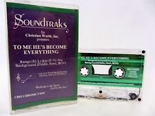 To Me He's Become Everything - Background vocals & Without 1992 Cassette Tape