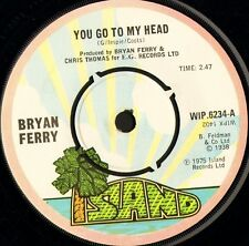 "BRYAN FERRY you go to my head/re-make/re-model WIP 6234 uk island 1975 7"" WS EX/"