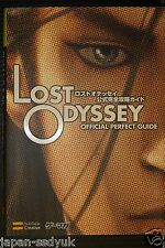 Lost Odyssey Official Perfect Guide book Xbox360 oop