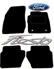 Ford Fiesta MK7 2008-2011 Black Tailored Deluxe Quality Car Mats Hatchback
