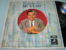 MUKESH MEMORIES Bollywood India A Selection Hindi Film Songs OST 1969 LP ODEON