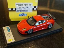 1/43 BBR Ferrari F430 GT TEST Monza 2005 BG293 - MINT RARE