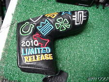 New Titleist Scotty Cameron Custom Stamps Works 2010 Leather Putter Headcover