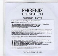 (BY914) The Phoenix Foundation, Flock of Hearts - 2010 DJ CD