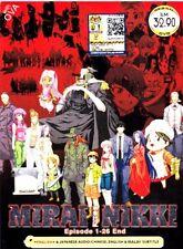 FUTURE DIARY / MIRAI NIKKI Vol.1-26 End English Dub DVD Anime New Complete Eps
