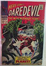 Marvel Comics - Daredevil #28 - 1960s Silver Age Comic - Nice Copy