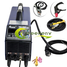 200 AMP DC Inverter TIG MMA Welding Machine Welder Stainless /Metal Copper 110v