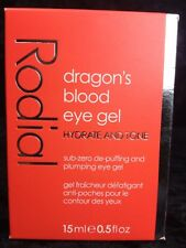 New Rodial Dragon's Blood Eye Gel , 15 ml, Hydrate and Tone Cooling Refreshing