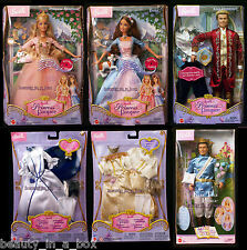 Anneliese Erika Dominick Princess and Pauper Wedding Fashion Barbie Ken Doll SW