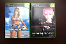 Microsoft Xbox Dead or Alive 3 + Xtreme Beach Volleyball Japan games US Seller
