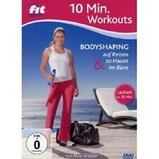 FIT FOR FUN 10 MIN. WORKOUT: BODYSHAPING ZU... DVD NEU