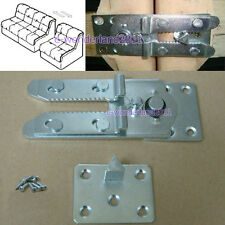 "Sectional Sofa Couch Connector Snap Style And 8 screws ""Alligator Style"""